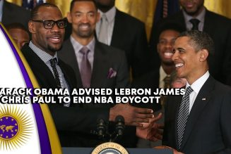 Barack Obama Convinced LeBron James & Chris Paul To End NBA Boycott In Exchange For Voting Locations