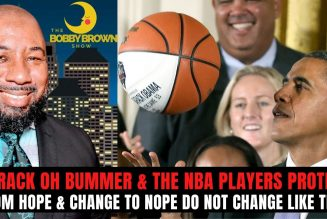 Barry Oh Bummer and The NBA  Players Protest