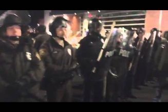 Bassem Streaming Ferguson Protest & Arrest — 11 19 2014