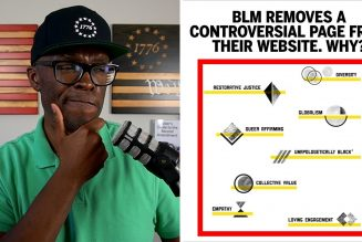BLM Removes THIS Controversial Page From Their Website