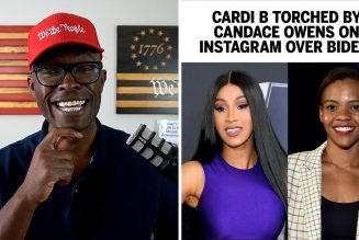 Candace Owens WRECKS Cardi B On Instagram Over Joe Biden!