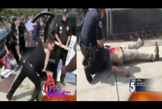 Crazy Cali~ Brawl Breaks Out And Several Men Are St@88ed At KK Gathering