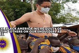 Dear Black America-We're Carrying Other Groups On Our Shoulders Just Like Our Ghanaian Brothers