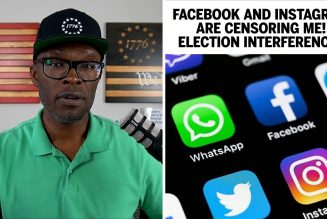 Facebook and Instagram Are CENSORING Me! Election Interference?