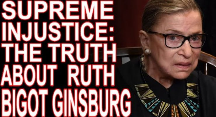 Ginsburg: A Friend To Racists and An Opponent of Black Empowerment
