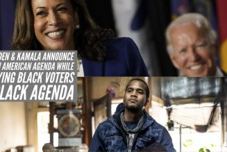 Joe Biden & Kamala Announce Indian American Agenda While Denying Black Voters A Black Agenda
