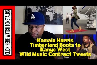 Kamala Harris Timberland Boots to Kanye West Wild Music Contract Tweet