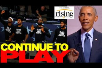 Krystal and Saagar: OBAMA Tells NBA Players To Get Back To Work