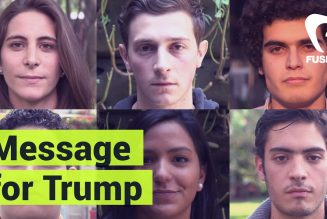 Mexican students have a message for Donald Trump