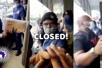 Nigerian Traders Forced To Shutdown After Demand For $1M USD To Stay Open By Ghanaian Security