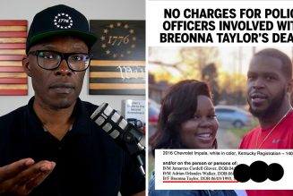 NO CHARGES For Officers Involved In Breonna Taylor's Death!