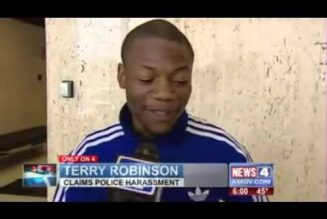 Police attempt to intimidate and frame Terry Robinson