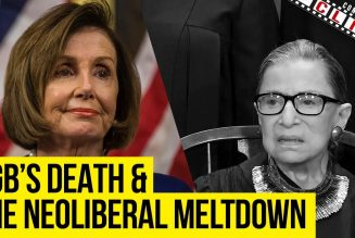 RBG's Death & The Resulting Neoliberal Meltdown