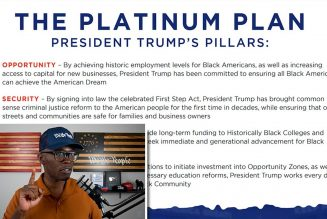 Reviewing Donald Trump's Platinum Plan For Black Americans!