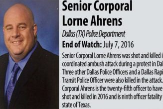 Slain Dallas Cop Had Possible Ties To White Supremacist Group