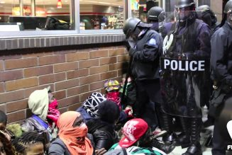 St. Louis protesters gassed and arrested at QuickTrip