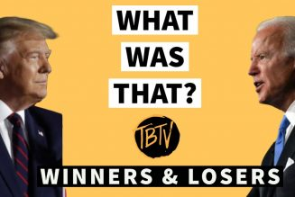 Trump Vs Biden Debate Winners and Losers | Tim Black