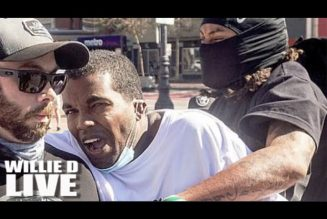 Black Trump Supporter Gets His Teeth Rearranged By Antifa