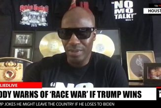 Diddy Warns of 'Race War' If Trump Is Re-elected