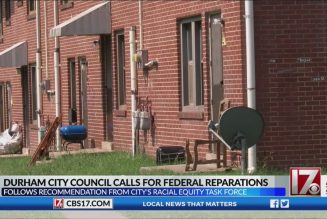 Durham city council calls for federal reparations