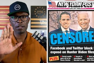 Facebook AND Twitter Outright CENSOR The Hunter Biden Story!