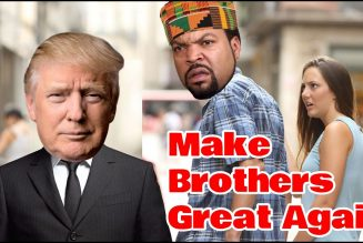 Ice Cube bravely leads the Black Male Exodus from the Democratic Plantation.