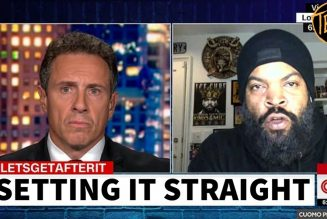Ice Cube Corrects CNN's Chris Cuomo | Tim Black