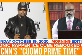 ICONIC RAPPER ICE CUBE REBOOKED ON CNNS CUOMO PRIME TIME | The Stewart Alastair Edition