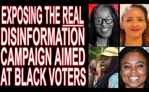 """Inside The REAL """"Disinformation"""" Targeting Black Voters"""