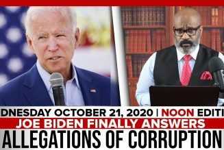 JOE BIDEN FINALLY ANSWERS ALLEGATIONS OF CORRUPTION | The Stewart Alastair Edition