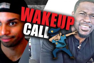 Jonathan Price gets his WAKEUP CALL with the police