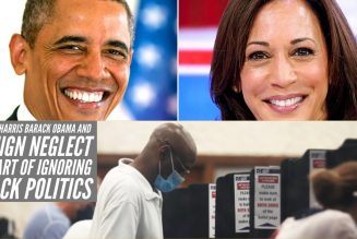 Kamala Harris Barack Obama And Benign Neglect: The Art of Ignoring Black Politics