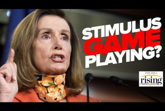 Krystal and Saagar: Pelosi MELTS DOWN Live on CNN When Pressed On Stimulus Game Playing