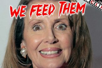 "Nancy Pelosi Arrogantly Claims ""We Feed Them"""