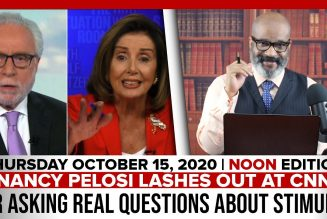 PELOSI LASHES OUT AT CNN FOR ASKING REAL QUESTIONS ABOUT STIMULUS | The Stewart Alastair Edition