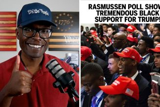Rasmussen Poll Shows Nearly 50% Black Support For Trump!