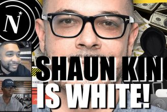 SHAUN KING IS WHITE!
