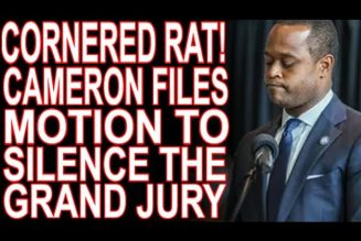 Terrified Daniel Cameron Tries To Silence Grand Jurors