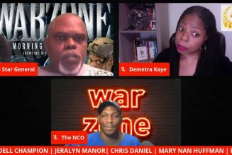 THE WAR ZONE | ARE THE RACIST THREATS REAL ABOUT IF TRUMP LOSES? ARE YOU READY