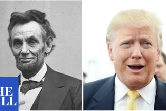 "Trump says he's done more for the Black community ""than any president since Abraham Lincoln """