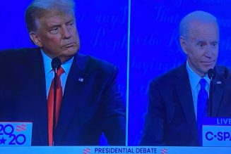 "Trump Vs Biden Debate on ""Race Relations"""