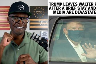 Trump's Brief Stay At Walter Reed Drove The Media Crazy!