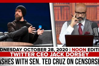 TWITTER CEO JACK DORSEY CLASHES WITH SEN. TED CRUZ ON CENSORSHIP | The Stewart Alastair Edition