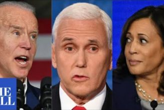 VP Mike Pence DEFENDS Trump, TEARS INTO Joe Biden, Kamala Harris
