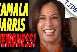 WEIRD Kamala Harris Interview!