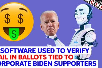 AI Software Used To Verify Mail In Ballots Tied To Corporate Biden Supporters