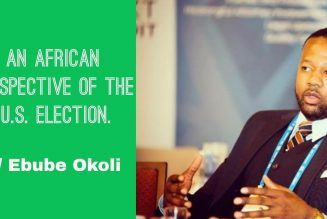 An African Perspective Of The U.S.A. Election w/ Ebube Okoli