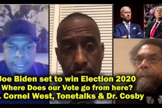 Biden set to Win Election 2020 – Dr. Cornel West – Where Do We Go From Here with Voting?