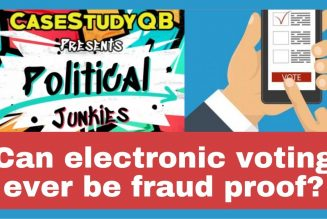 Can electronic voting ever be fraud proof?
