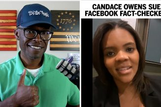 Candace Owens SUES Facebook Fact-Checkers!